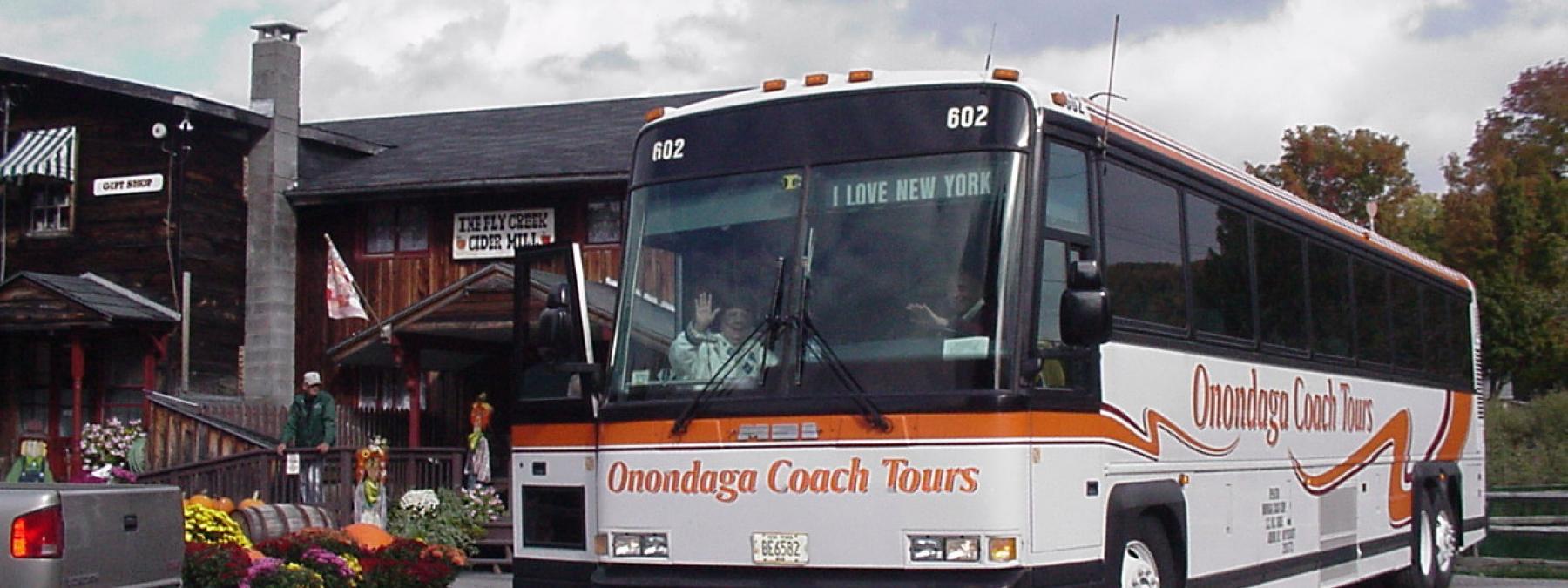 Mototcoach Group Tour Menu