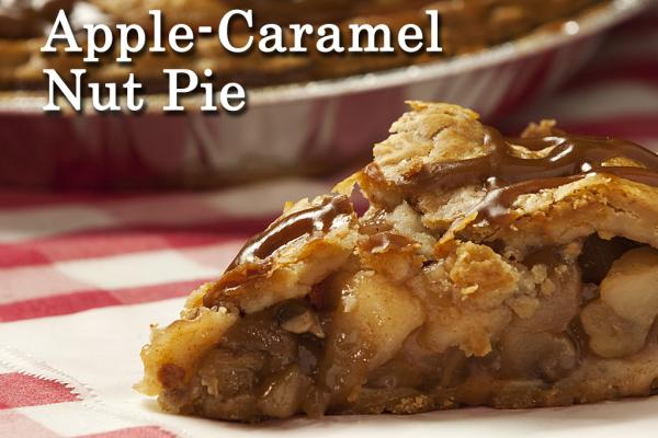 Apple-Caramel Nut Pie