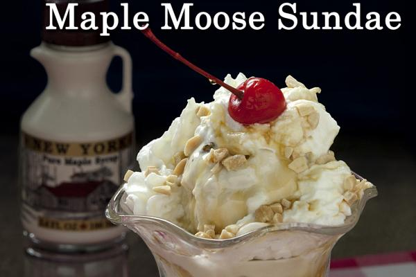 Maple Moose Sundae