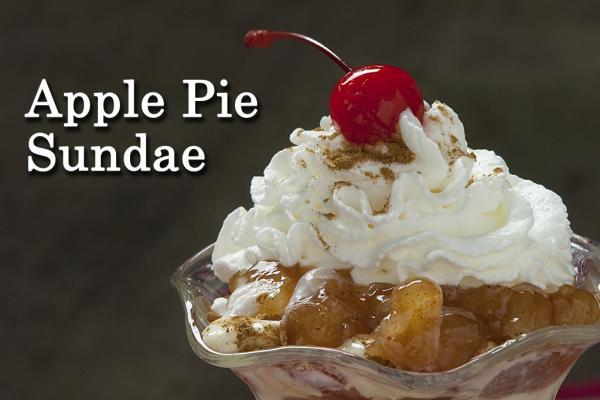 Apple Pie Sundae